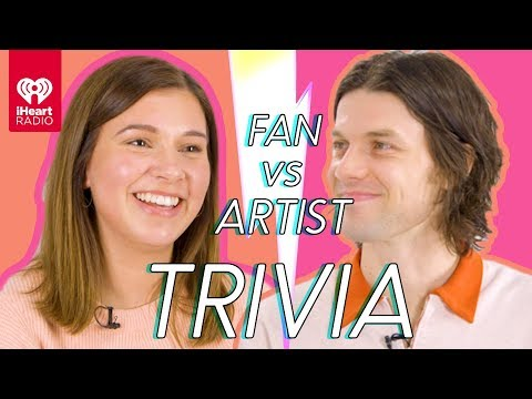 James Bay Goes Head To Head With His Biggest Fan | Fan Vs Artist Trivia - IHeartRadio