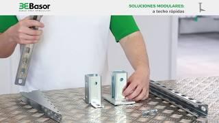 Basorsupport Soluciones modulares a techo rápidas