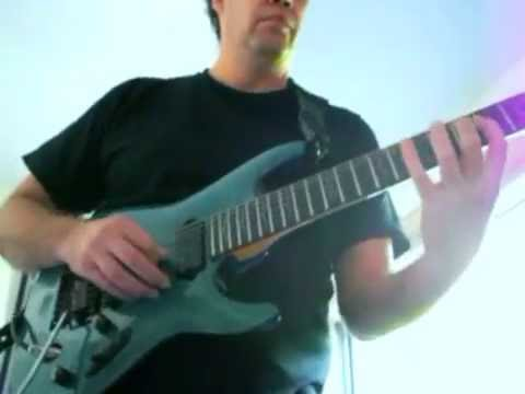 """Improvising over my favorite Steve Vai's track - a fragment from """"The Riddle""""."""