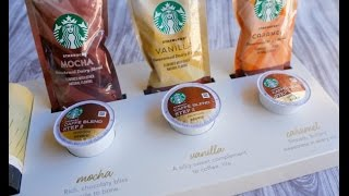 New Starbucks® Caffè Latte K-Cup® pods