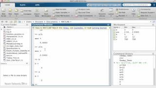Learning MathLAB Programming 6 Basic Arithmatic
