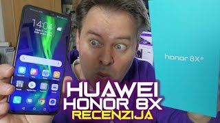 Huawei Honor 8X recenzija - gaming, film, foto, zabava (31.10.2018)