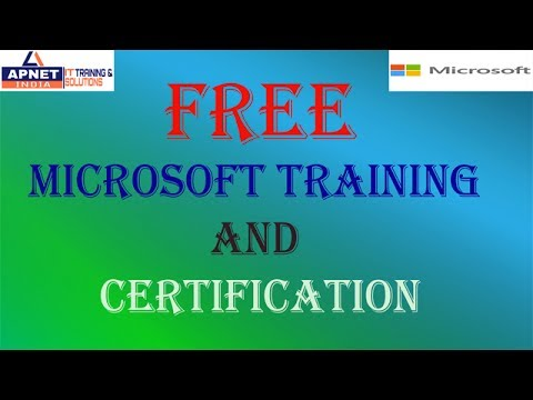 Get Free Microsoft Training and Certifications. Its totally free - YouTube