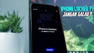 Cara Membuka Iphone Yang Terkunci (IPHONE DISABLED) Dan UNLOCK Apple ID !