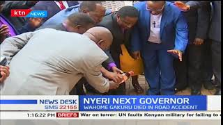 Mutahi Kahiga becomes new of Nyeri County