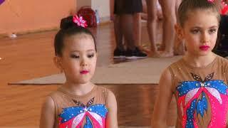 Первенство города Новосибирска по эстетической гимнастике
