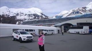 США Анкоридж Аляска Национальный Парк Посадка на лайнер