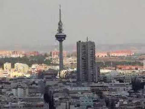 Zicht vanuit de Torre de Madrid