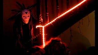 Психонавт Шаббат, перфоманс с масками.