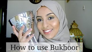 How to use Arabian Incense Bakhoor / Bukhoor / Oud بخور