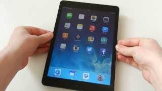 Apple iPad Air WiFi + Cellular spacegrau Test & LTE Speed