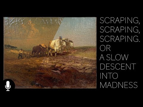 Scraping, Scraping, Scraping Or A Slow Descent Into Madness. The Conservation of Mathias J. Alten