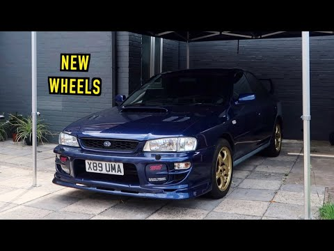 New Wheels for the Cheap SUBARU IMPREZA!
