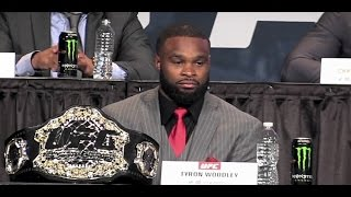 Tyron Woodley: 'Boo Me If You Want... You Have to Respect Me'