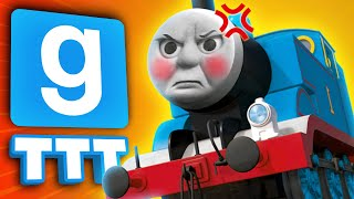 CRUSHED BY A TRAIN | Gmod TTT