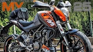 preview picture of video 'My First Bike KTM Duke 125 Customized Motorcycle | Mój Pierwszy Motocykl S01E07'