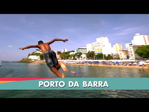 Passar uma tarde no Porto da Barra é melhor do que em Itapuã? Eleita uma das 3 praias mais bonitas do mundo, o Porto da Barra é, definitivamente, um dos lugares mais incríveis de Salvador.