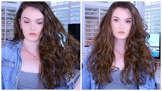 My Wavy Hair Routine + How I Style My Hair!