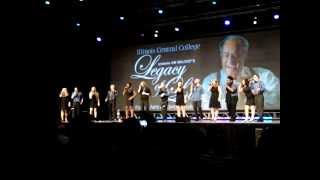 """Almost Like Being in Love"" (From Brigadoon) ~ Illinois Central College Vocal Jazz Ensemble"