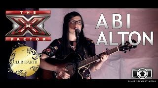 X Factor's Abi Alton performs LIVE @Club Earth // 17-11-13