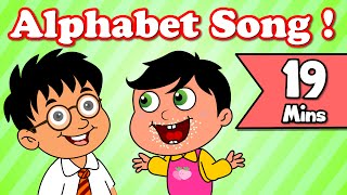 Alphabet Song, Rain Rain Go Away | Plus Lots More Kids Nursery Rhymes| 19 Minutes Compilation