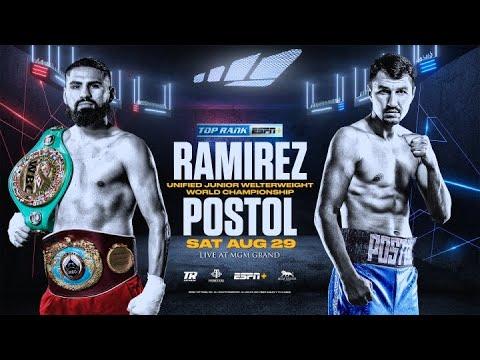 Хосе Рамирес – Виктор Постол / Jose Ramirez vs. Viktor Postol