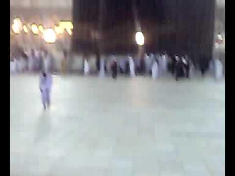 أمطار غزيرة على المسجد الحرام