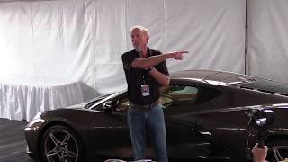 C8 Corvette Media Presentation - Corvettes at Carlisle