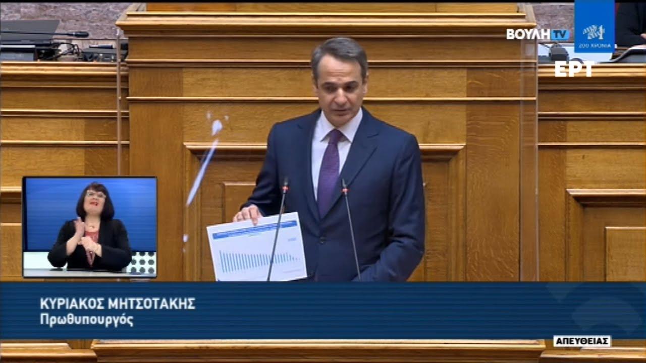 Κυρ. Μητσοτάκης: Περισσότερη ελευθερία σημαίνει περισσότερη υπευθυνότητα