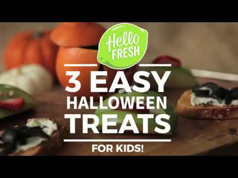 3 Spooky Halloween Treats - For Kids!