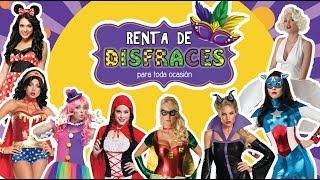 RENTA DE DISFRACES PARA MUJER