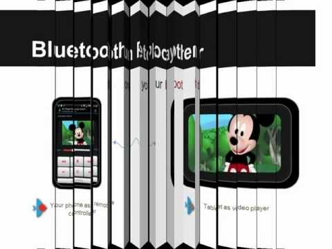 Video of Bluetooth Player
