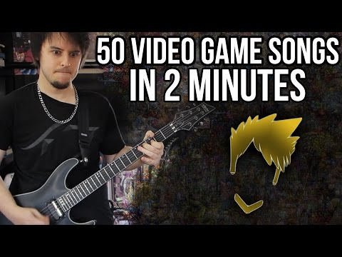 Don't Watch 50 Video Games Songs In Two Minutes, Just Listen