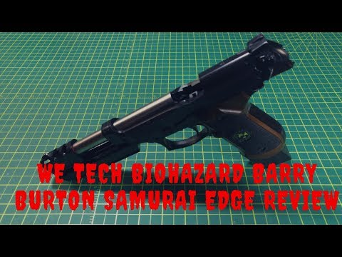 WE Samurai Edge Barry Burton Model GBB Pistol Airsoft BB Gun