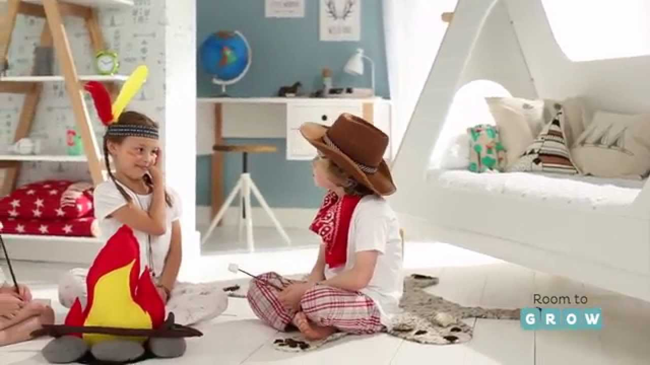 Wild West Teepee Bed Product Video