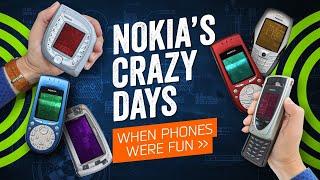 When Phones Were Fun  - And Nokia Was Crazy