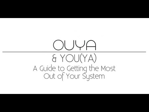 A 44-Step Guide To Enjoying The Ouya