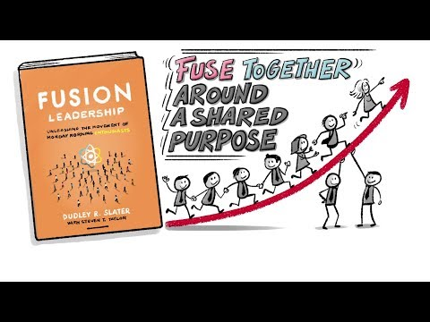 """Fusion Leadership"" By Dudley R. Slater - Company Culture - BOOK SUMMARY Mp3"