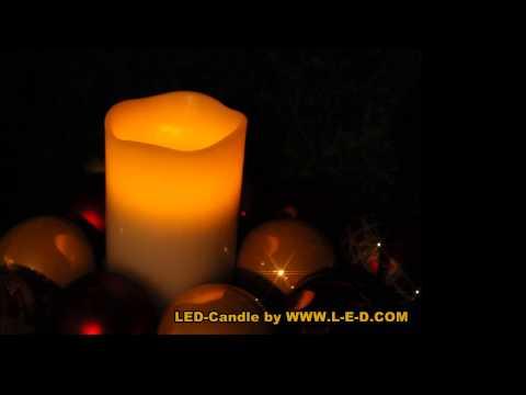 LED Wachskerze von L-E-D.COM für den professionellen Einsatz in der Hotellerie