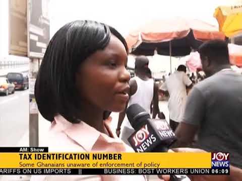Tax Identification Number - AM News on JoyNews (4-4-18)