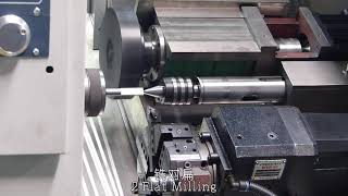 Hexagon Processing by CNC Turning Lathe