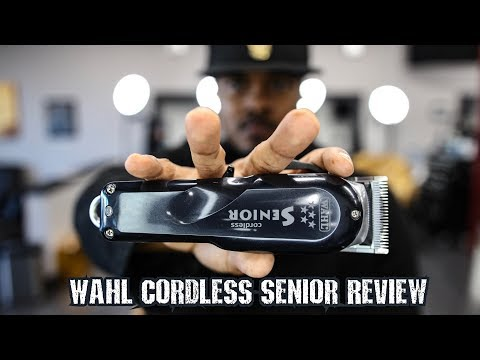 WAHL CORDLESS SENIOR REVIEW