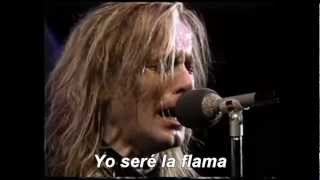 The flame - Cheap Trick (Subtitulado en Español)