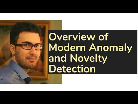 Overview of Modern Anomaly and Novelty Detection