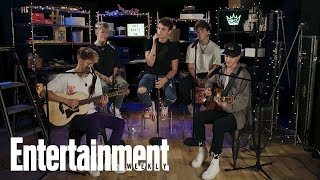 Why Don't We Performs 'What Am I'   In The Basement   Entertainment Weekly