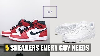 5 Sneakers Every Guy Needs | Basic Mens Wardrobe Essentials Part 5