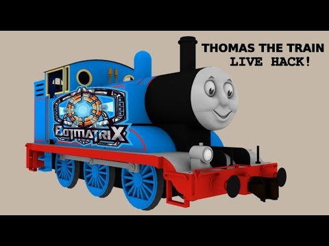 Thomas The Train Live Hack....The Better Version Of His Former Self!
