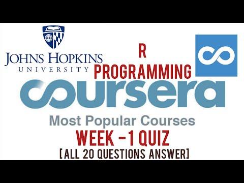 Coursera: R Programming Week 1 Quiz Answers | Week 1 ...