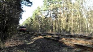 preview picture of video '(HD)  Szlak Puszczykowo - Puszczykówko - skład 3x EN57 - IR 56130'