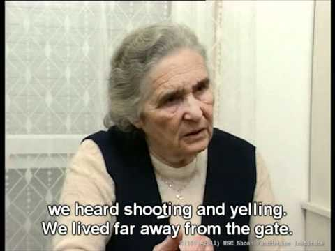 Holocaust Survivor Testimony: Bronya Khalfina, part 1/6
